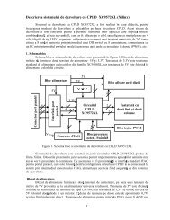 1 Descrierea sistemului de dezvoltare cu CPLD XC9572XL (Xilinx)