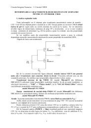 Circuite Integrate Numerice – 5. Circuite CMOS 1 DETERMINAREA ...