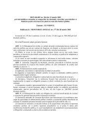HOTARARE nr. 264 din 13 martie 2003 privind stabilirea ... - uefiscdi
