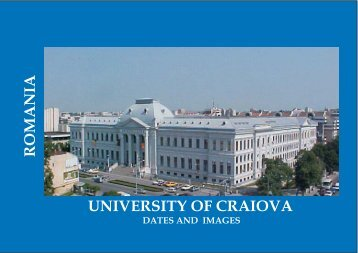 UNIVERSITY OF CRAIOVA ROMANIA