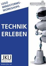 Projektbeschreibung TECHNIK ERLEBEN - Institut für Robotik - JKU