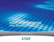 Overview 300/400/500 - Robotina