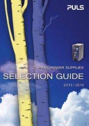 selection guide - Robotina