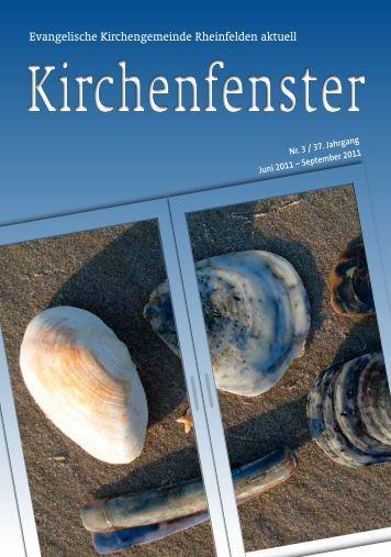 Gemeindebrief Juni / Juli / August 2011 - Evangelische ...