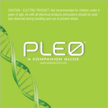 Pleo - RobotsAndComputers.com