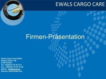Dia 1 - Ewals Cargo Care