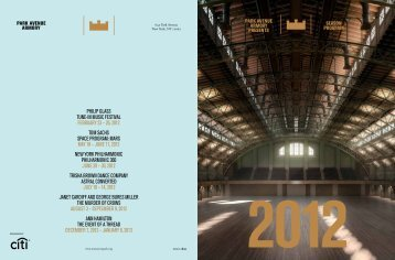 PhiliP Glass Tune-in Music FesTival February 23 – 26, 2012 ToM ...