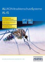 ALUKON-InsektenschutzSysteme - ais-online.de