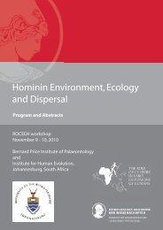 Program and Abstracts - roceeh
