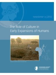 The Role of Culture in Early Expansions of Humans