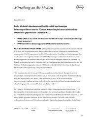 Roche Wirkstoff obinutuzumab (GA101) erhält beschleunigtes ...