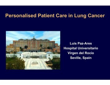 Personalised patient care in lung cancer (5 MB) - Roche