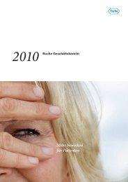 Roche Geschäftsbericht 2010