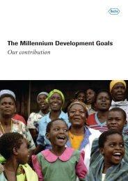 Roche - The Millennium Development Goals