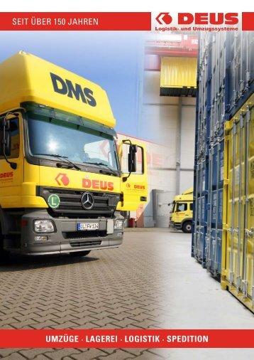 gut zu wissen - DEUS Logistik