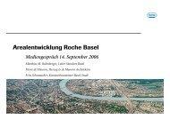 Arealentwicklung Roche Basel