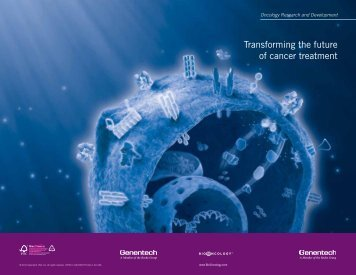Transforming the future of cancer treatment - Roche