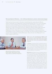 Roche Geschäftsbericht 2008 - Konzernstrategie