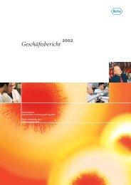 Geschäftsbericht 2002 - Roche