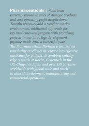 Roche Annual Report 2010