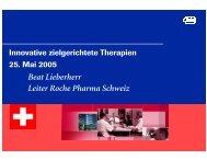 Beat Lieberherr Leiter Roche Pharma Schweiz