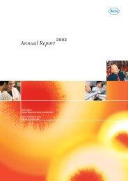 Annual Report 2002 - Roche