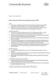 Comunicado de prensa - Roche