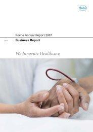 We Innovate Healthcare Roche Annual Report