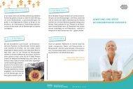 BEWEGUNG UND SPORT BEI RHEUMATOIDER ARTHRITIS