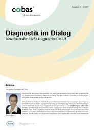 Diagnostik im Dialog, Ausgabe 12, 4/2007 - Roche in Deutschland