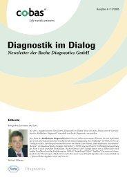 Diagnostik im Dialog (Ausgabe 4, 12/2005) - Roche in Deutschland