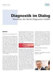 Diagnostik im Dialog - Roche in Deutschland