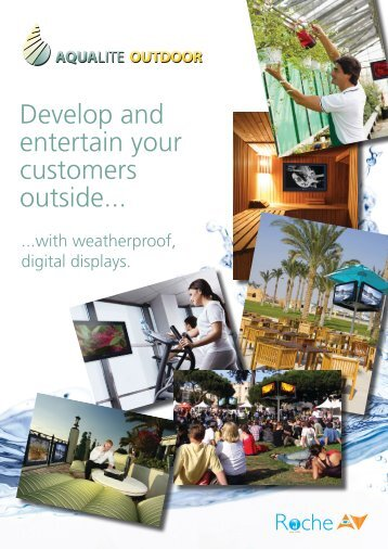 Aqualite outdoor brochure - Roche AV