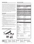 EDID 101D EDID 101V - Extron Electronics - Page 2