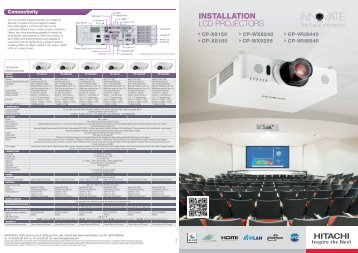 Hitachi installation brochure - Roche AV