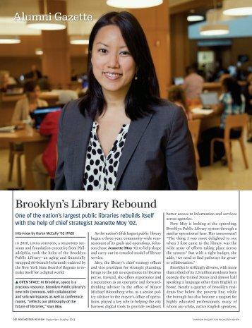 Brooklyn's Library Rebound