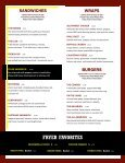 Tavern Menu - Page 2