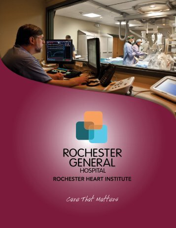 Care That Matters - Rochester General Health System