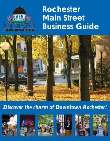 Rochester Main Street Business Guide