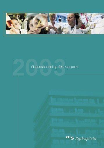 2003 - Rigshospitalet