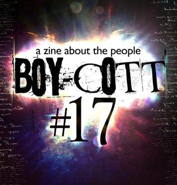 Boy-Cott Magazine #17