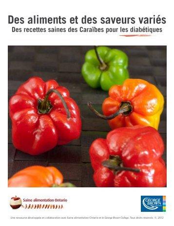 Essayez ces recettes saines pour diabétiques ... - Eat Right Ontario