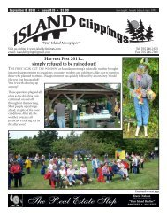 Sept 8 - the Island Clippings!