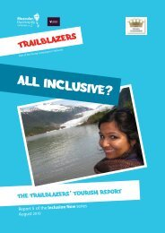 All inclusive - Trailblazers