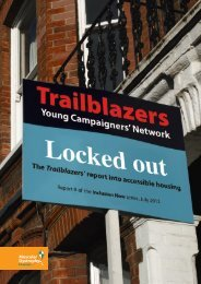 The Locked Out report - Trailblazers