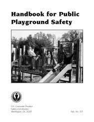 Handbook for Public Playground Safety - Park Place Recreation ...