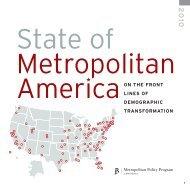 State of Metropolitan America - Brookings Institution