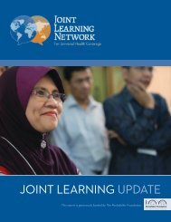 joint learning update - Joint Learning Network for Universal Health ...