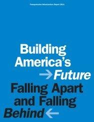 Transportation Infrastructure Report 2011 - Building America's Future