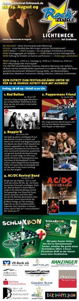 Flyer 2009 - PDF - rockfestival lichteneck